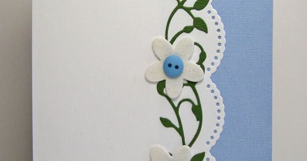 Like the vine look with button flowers