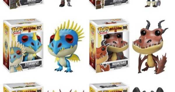 Funko Pop Movies How To Train Your Dragon Set Of 6