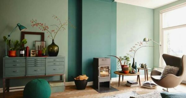 Kleuren histor de muur is in de kleur sectie geschilderd de muur rondom de ramen in bereidheid - Kleur muur slaapkamer kind ...