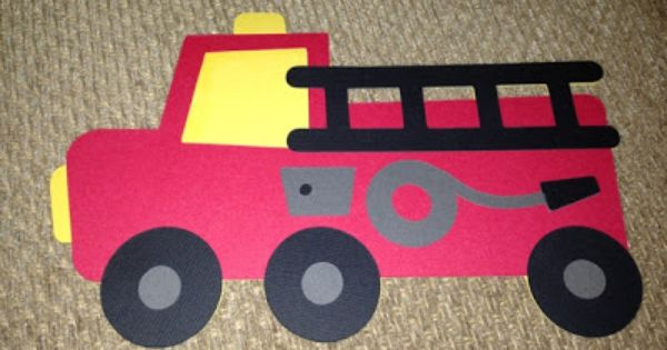 Firetruck Invitations Fireman Fire Truck Birthday