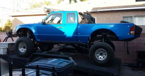 1996 Ford Ranger Prerunner Blue For Sale On Craigslist Ford Ranger Ford Ranger Prerunner Ford Ranger For Sale