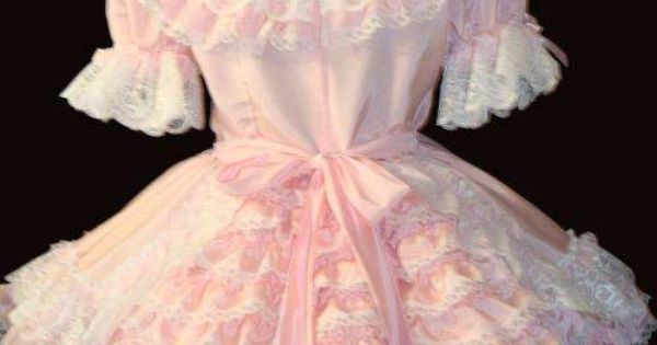 Pink petals, Ruffles and Locks on Pinterest
