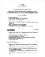 Aerospace Aviation Resume2 Resume Engineering Jobs Aerospace