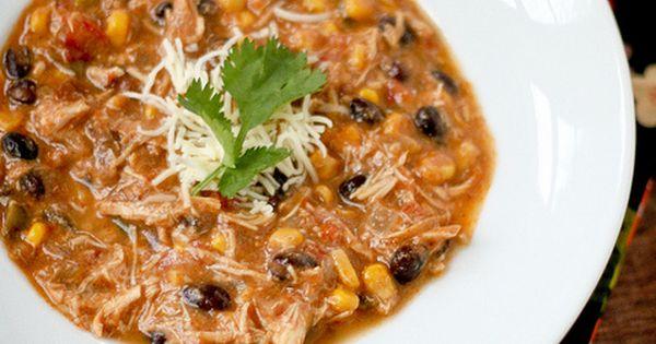 crock pot enchilada soup - Crockpot Chicken Enchilada Soup Ingredients: 3 tablespoons
