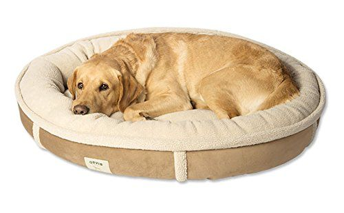 Orvis Wraparound Dog Bed Large Dogs 5080 Lbs Khaki Click Image To Review More Details Fleece Dog Bed Dog Bed Large Cute Dog Beds