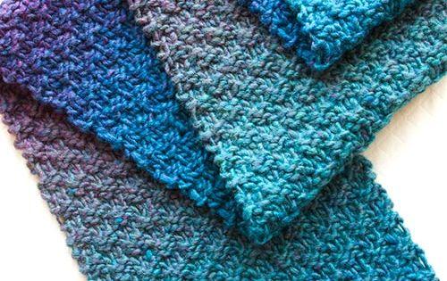Gentle Stripes Scarf FREE Knitting Pattern Knitting Patterns, Instructions,...