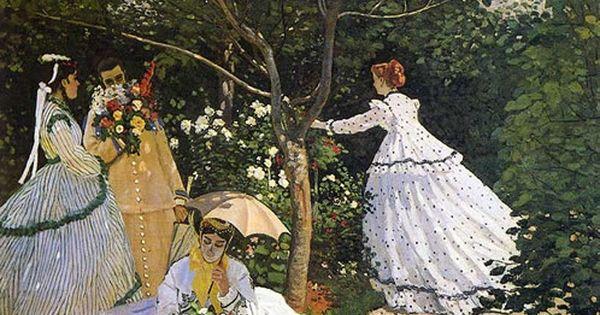 Mulheres no jardim (1866) Claude Monet   QUADROS ...