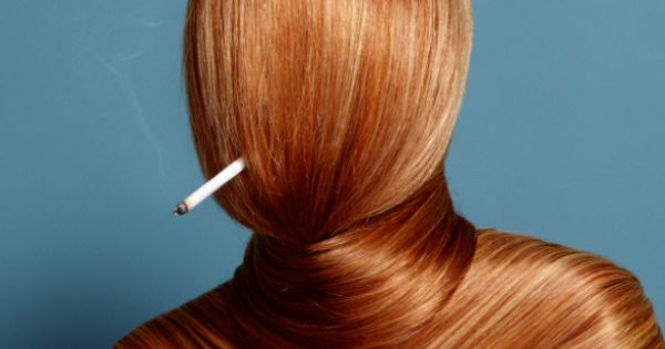 HUGH KRETSCHMER HUGH KRETSCHMER HUGHKRETSCHMER Facevinyl FacevinylSELECTION SELECTION cigarette hair