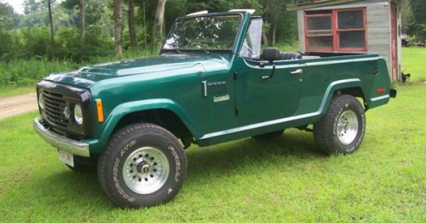 1972 Jeep Commando Green Black Lift Jeepster Jeepster