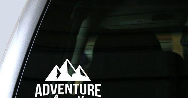 L 39 aventure attend autocollant sticker vinyle vinyle for Autocollant fenetre
