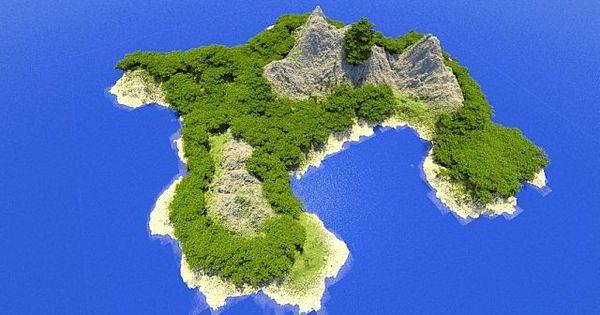 Tropical island minecraft world save minecraft pinterest - Minecraft inneneinrichtung ...
