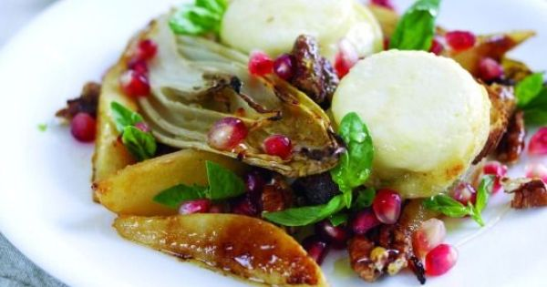 Candied walnuts, Pears and Pomegranate seeds on Pinterest