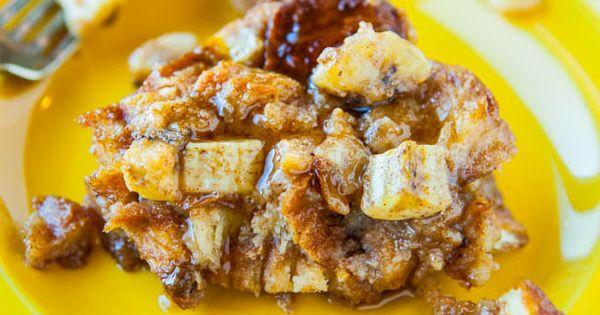 Hawaiian Bread and Maple Banana Baked French Toast | Recipe | Baked ...