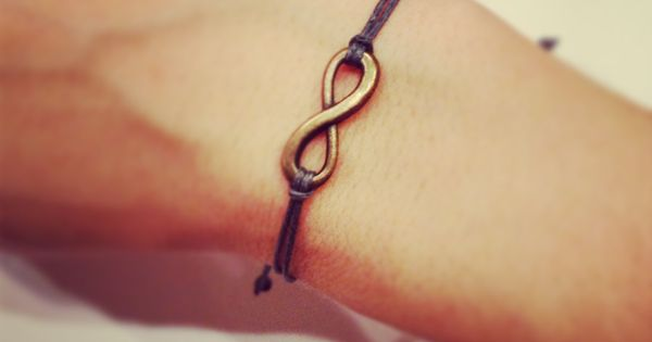 Beautiful! Infiniti bracelet-valentines day by AroundMyWrist on Etsy, 6.95