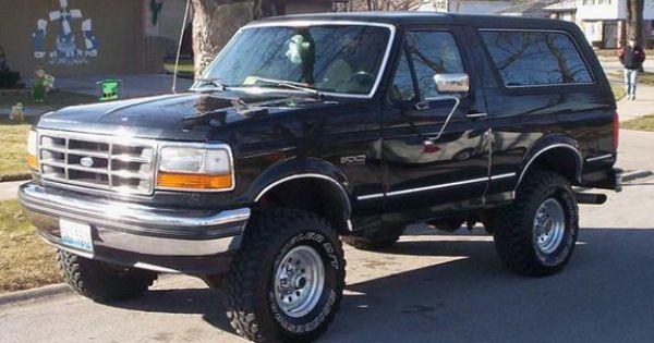 1991 Ford Bronco Google Search