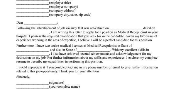 Http://www.jobresume.website/medical-receptionist