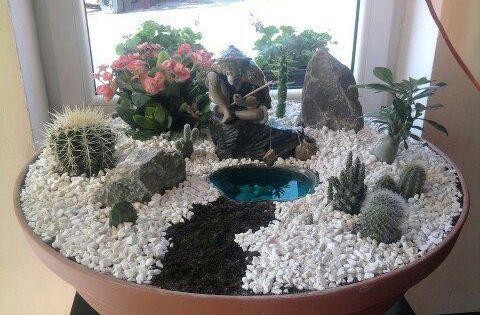 Mini jardin zen m s kert szet for Mini jardin zen