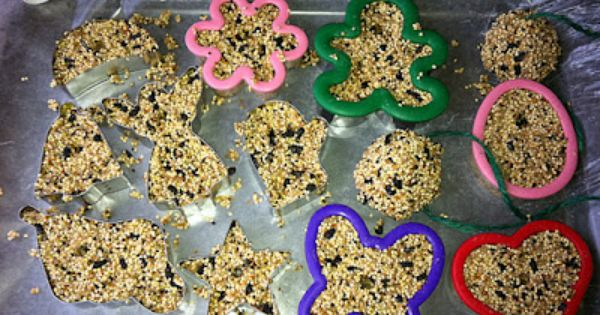 Lots of homemade bird treats on this post, making presents for the