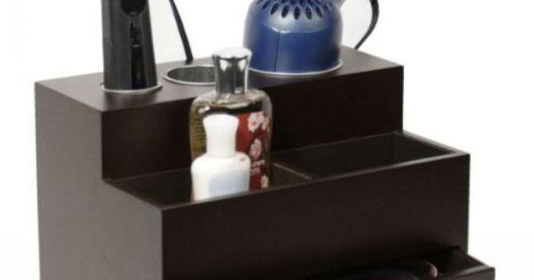 Hair Style Organizer: Hair Tool Organizer Accessories Blow Dryer Flat Curling