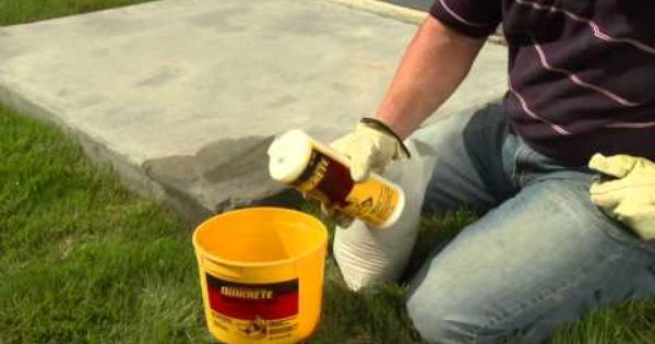 How To Repair Concrete Steps And Edges Using Quikrete Fast
