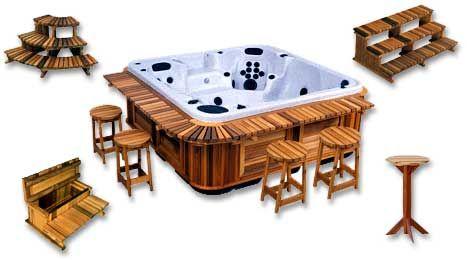 Hot Tub Bar, Hot Tub Furniture