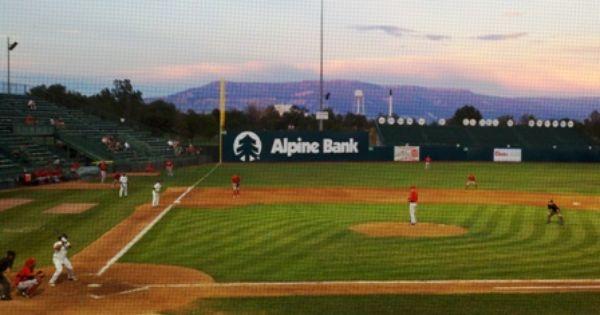 Gj Rockies Suplizio Field Minor League Baseball Rocky Grand Junction