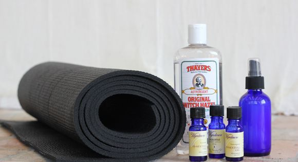 DIY Yoga Mat Cleaning Spray | Free People Blog How to Use