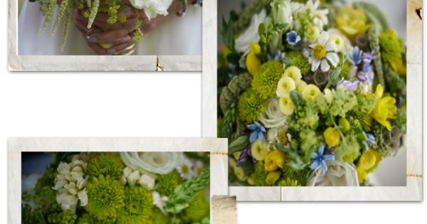 Summer bouquet - Pretty - clean, fresh and green Bouquets.