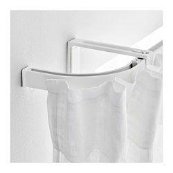 Vidga Embout Extremite Rail Simple Blanc Ikea Curtains Ikea