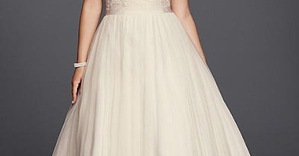 20 gorgeous wedding dresses under 1 000 beaded lace for Wedding dress with swag sleeves