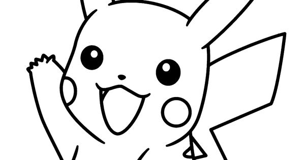 pokemon pikachu coloring pages to print Pikachu