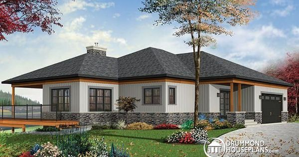 Modern Rustic House Plan 3967 Home With 5 Bedrooms Open