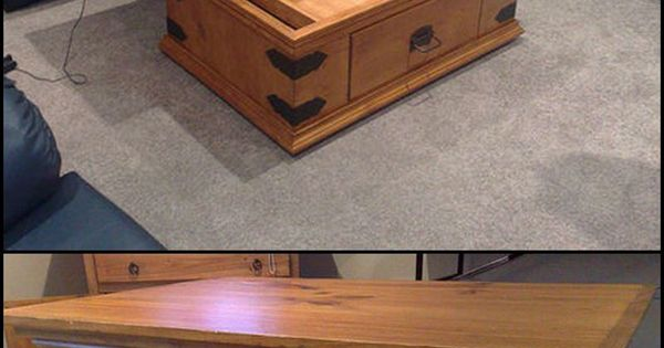How To Build A Diy Lift Top Coffee Table Http