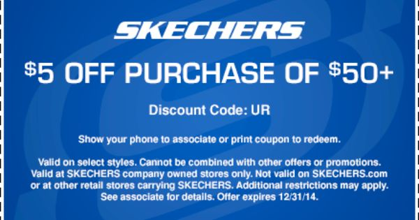 SKECHERS Factory Outlet | Print coupons