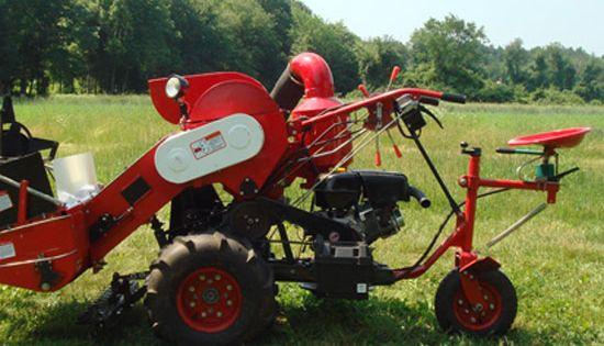 Try the boaz mini combine for small scale grain processing for Small scale homesteading