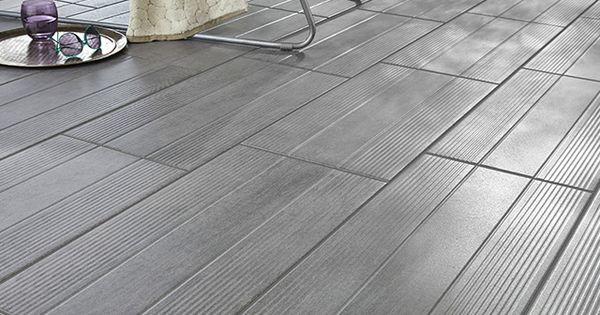 carrelage terrasse gris 31 x 61 8 cm vieste castorama proverbes pinterest balconies. Black Bedroom Furniture Sets. Home Design Ideas