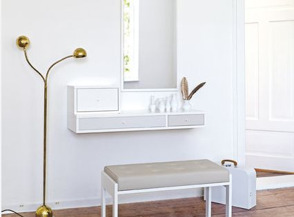 Wall Mounted Modern Dressing Tables For Small Bedrooms Png