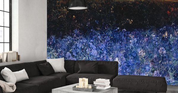 Zomer in je kamer dat doet dit behang zeker prachtige kleuren supermooi schilderij behang - Schilderij in de kamer ...