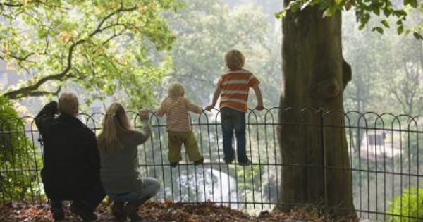 Visitors Admiring The View Down To The Garden Quarry National Trust Wilmslow