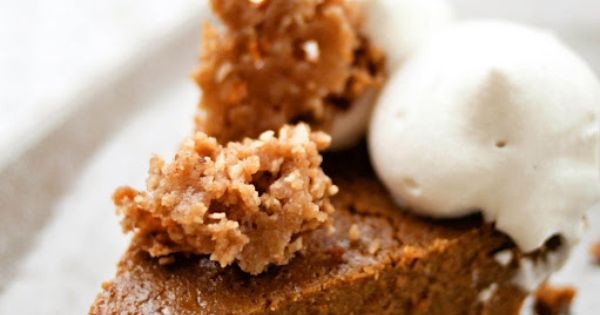 Pumpkin pies, Crunches and Whipped cream on Pinterest