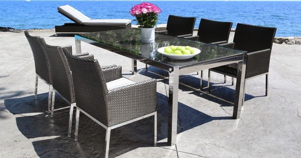 What Does Your Patio Say About You Cabana Coast Patio Furniture Style Hgtv Pinterest