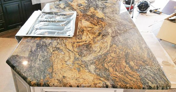 Our Work Granite Kitchen Island Ranch Style Home Custom Kitchens