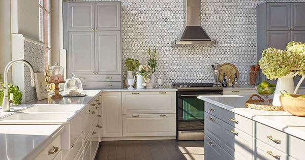 Jillian harris 39 s kitchen design in ikea 39 s house of for Jillian harris kitchen designs