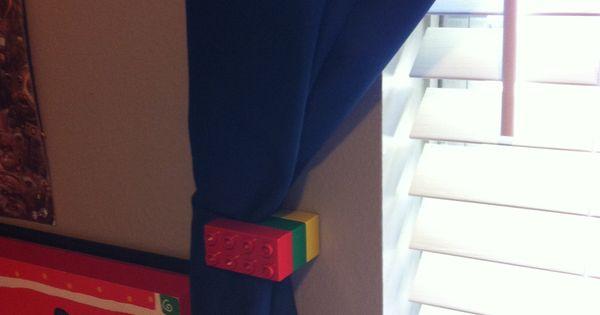 Lego Curtain Tie Back Diy Curtain Ties Lego Home Chez