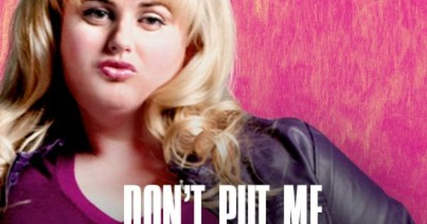 fat Amy. Pitch Perfect. Horizontal running(;
