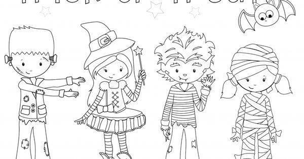 halloween sunday school coloring pages - photo#15