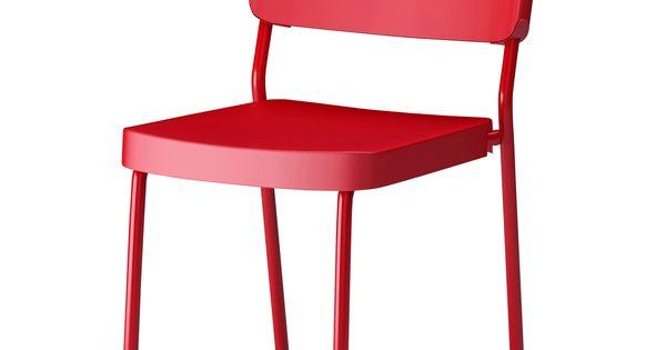 Herman Chair Red Ikea 15 Pop Art Pinterest