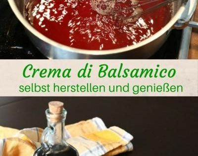 balsamico creme selbst herstellen das rezept f r genie er thermomix dips and dressings. Black Bedroom Furniture Sets. Home Design Ideas
