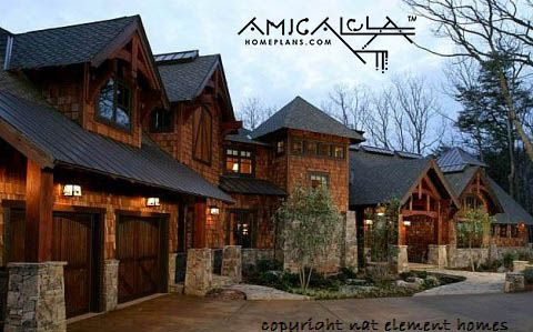 Plan No 14008 Rocky Mountain Lodge Amicalola Home Plans C Klippel Residential Design Mountain Home Exterior Rustic House Plans Rustic House