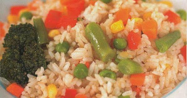 Resep Nasi Goreng Vegetarian Sehat Dan Enak Masakan Resep Masakan Indonesia Makanan
